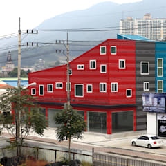 اتاق کار و درس by 현앤전 건축사 사무소(HYUN AND JEON ARCHITECTURAL OFFICE )