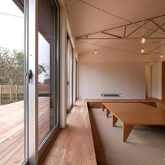 Salon de style  par krew Architects.inc,