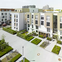 Vorgebirgsgärten Wohnungsbau Köln Planquadrat Elfers Geskes Krämer Moderne Häuser