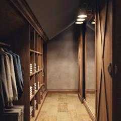Dressing room by HOMEFORM Студия интерьеров, Country