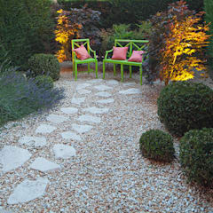 Jardines de estilo  por silvia delpiano studio e progettazione giardini