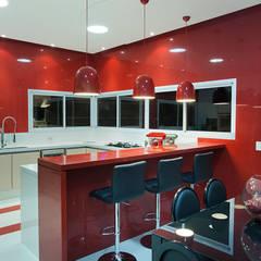ห้องครัว โดย Arquiteto Aquiles Nícolas Kílaris, โมเดิร์น