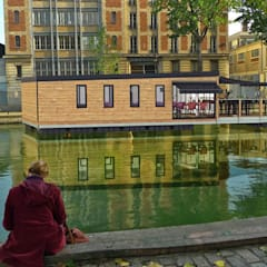 Aquashell  Brasserie design:  Bars & clubs by Floating Habitats T/A AQUASHELL