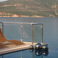 A Holiday Home in Turkey:  Pool by Sarah Ward Associates