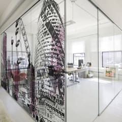 Cityscapes - london montage:  Offices & stores by Tektura Wallcoverings