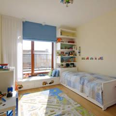 Apartament w Wilanowie: styl , w kategorii Pokój dziecięcy zaprojektowany przez ZAWICKA-ID Projektowanie wnętrz