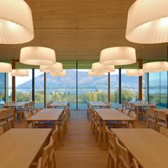 Speisesaal:  Schulen von Fink Thurnher Architekten