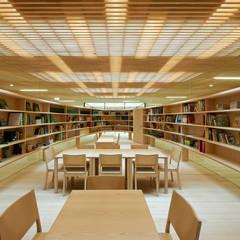 Bibliothek:  Schulen von Fink Thurnher Architekten