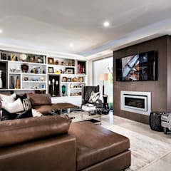 Living Rooms by Moda Interiors, Perth, Western Australia:  Living room by Moda Interiors