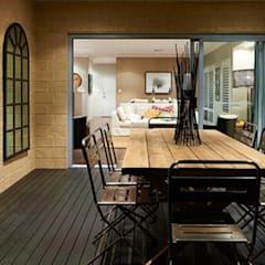 ​Alfresco, Outdoor Living, Patio, Deck by Moda Interiors, Perth, Western Australia:  Terrace by Moda Interiors