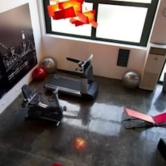 Gym by monica giovannelli architetto,