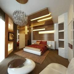 Спальня: Спальни в . Автор – Studio Design-rise
