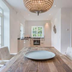 Home Staging Reetdachhaus auf Sylt:  Esszimmer von Immofoto-Sylt