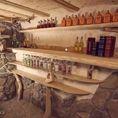 Regały na alkohol, piwniczka: styl , w kategorii Piwnica win zaprojektowany przez Twoje Miejsce
