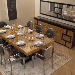 Sonmez Mobilya Avantgarde Boutique Modoko – Geo Yemek Takımı: minimal tarz tarz Yemek Odası