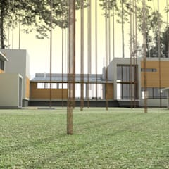 Дом на берегу Финского залива: Зимние сады в . Автор – Format A5 Fontanka