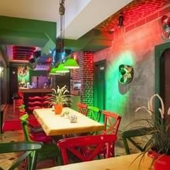 NTG Mimarlık – Ranchero Mexican Restaurant :  tarz Yemek Odası