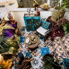 Peponi House - Back Door to Africa:  Garden by STUDIO [D] TALE
