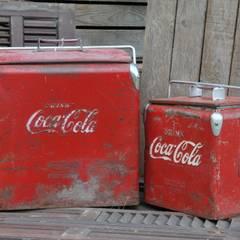 Original Coke coolers:  Bars & clubs by Tramps (UK) Ltd