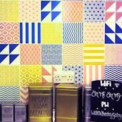 Colour Pattern Tiles:  Gastronomy by Tile Fire Ltd.