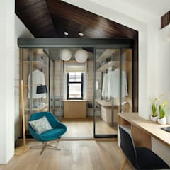 Dressing room by ZE|Workroom studio, Scandinavian