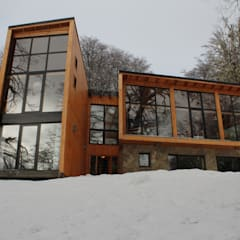 โรงแรม by Aguirre Arquitectura Patagonica