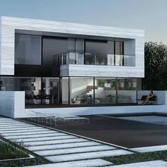 ALEXANDER ZHIDKOV ARCHITECT Minimalist houses