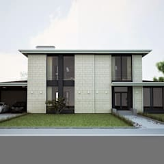 Huizen door ALEXANDER ZHIDKOV ARCHITECT,