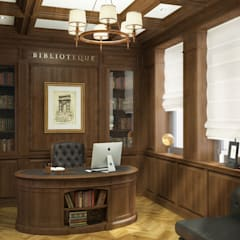 classic Study/office by studio forma