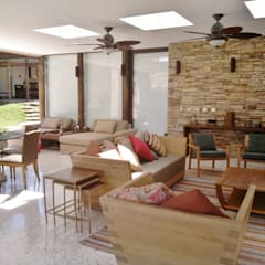 Kika Prata Arquitetura e Interiores.:  tarz Teras