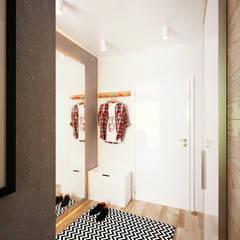 Corridor & hallway by IK-architects