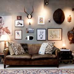 Salas de estilo ecléctico de BRICKS Studio Ecléctico