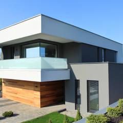 Dom w Gorzowie: styl , w kategorii Domy zaprojektowany przez STRUKTURA Łukasz Lewandowski,