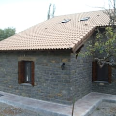 Fiscal Huesca: Casas de estilo rural de MODULAR HOME