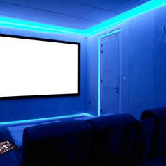 Bespoke Home Cinema:  Media room by Prestigeaudio - Smart Home Designers
