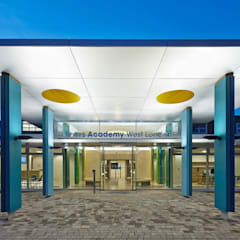 Rivers Academy West London:  Schools by Jonathan Clark Architects