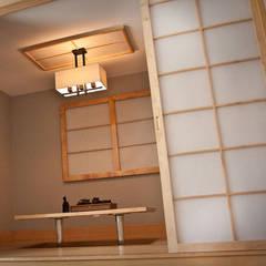 Asian Corner: styl , w kategorii Jadalnia zaprojektowany przez Cobo Design