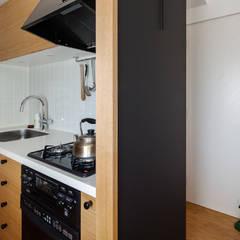 渋谷区の住宅: sorama me Inc.が手掛けたキッチンです。
