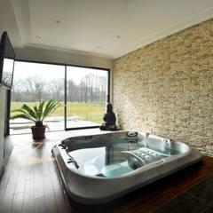 Spa espace détente: Spa de style de style Moderne par [ADitude*] Architecture