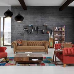 Salas de estilo  por Mahir Mobilya,