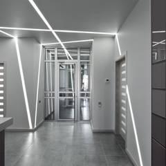 Офис где теряются границы восприятия.:  в . Автор – APRIL DESIGN, Минимализм