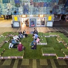 Made in Śląsk - śniadanie na trawie: styl , w kategorii Ogród zaprojektowany przez musk collective design