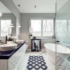 Apartament w Krakowie - łazienka: styl , w kategorii Łazienka zaprojektowany przez AvoCADo