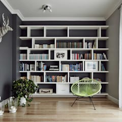 Living room by AvoCADo , Scandinavian