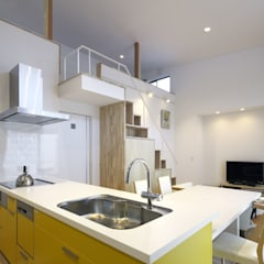 Kitchen by 那波建築設計 NABA architects, Modern