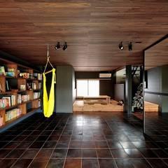 غرفة الميديا تنفيذ アトリエセッテン一級建築士事務所