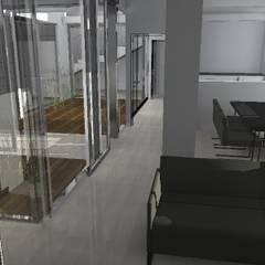 Nutzungsänderung einer Brennerei in ein Loft:  Wintergarten von Andreas Wünnenberg  |  Architekt