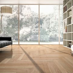 Стены и пол в стиле модерн от Timberplan Модерн
