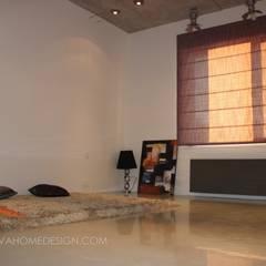 Media room by Orlova Home Design, Industrial