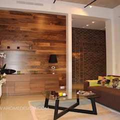 Living room by Orlova Home Design, Industrial
